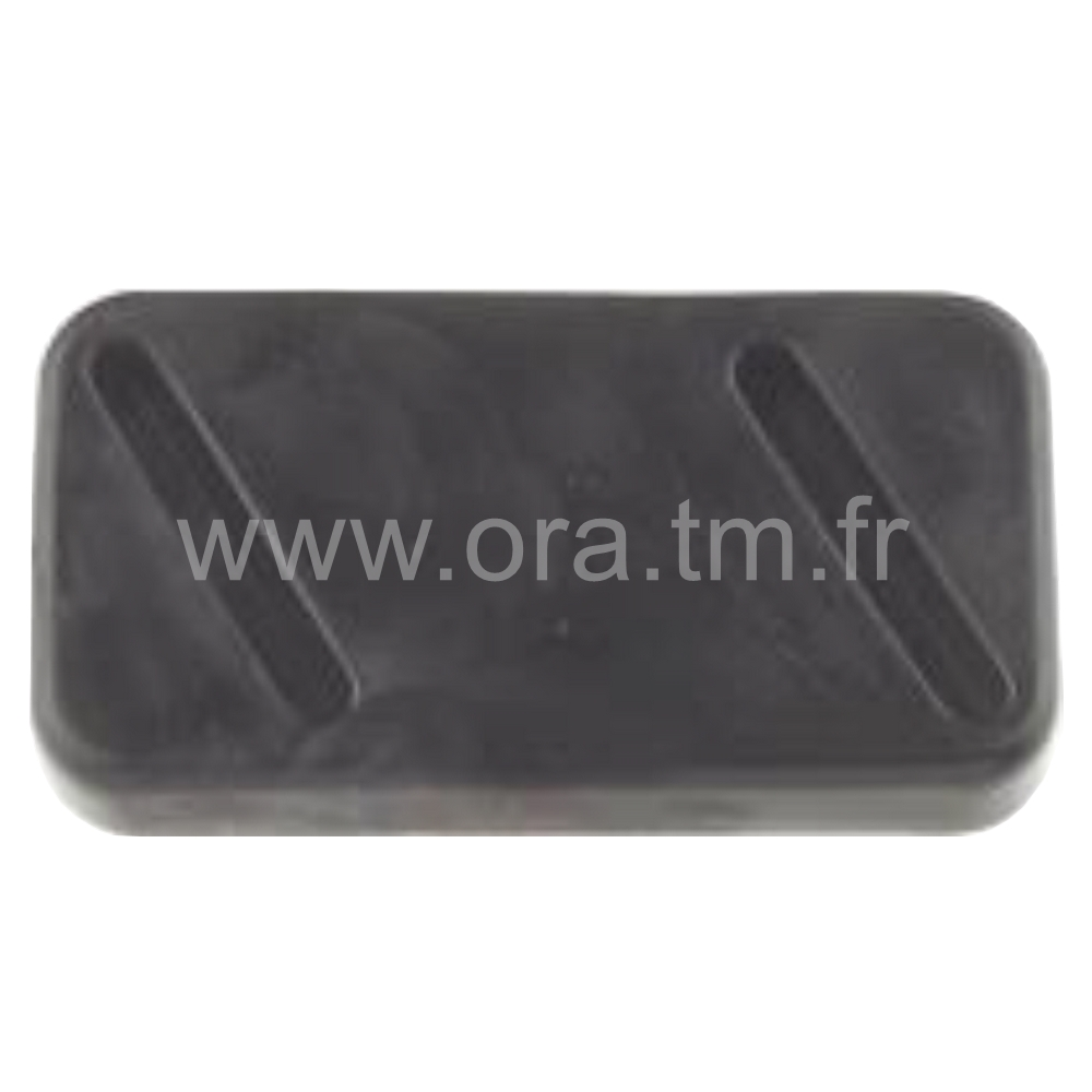 PTA - PATIN A AGRAFER - BASE RECTANGULAIRE