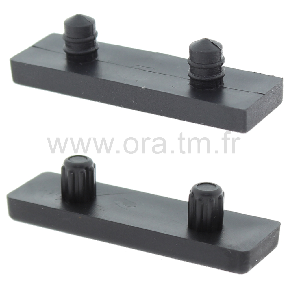 PTS - PATIN A TENON - BASE RECTANGULAIRE