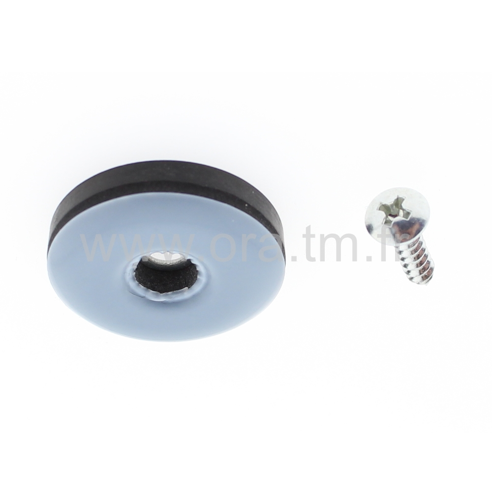 PVG - PATIN GLISSOR PTFE - CYLINDRIQUE FIXA A VIS