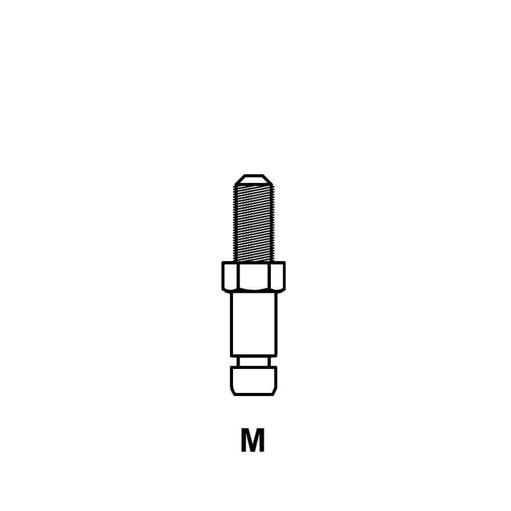 G1025 - FIXATION PIVOTANTE - ROULETTES & PATINS
