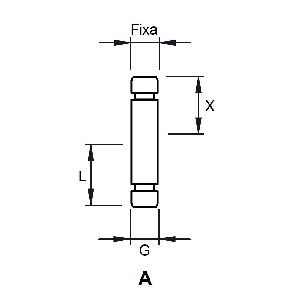 G823 - FIXATION PIVOTANTE - ROULETTES & PATINS