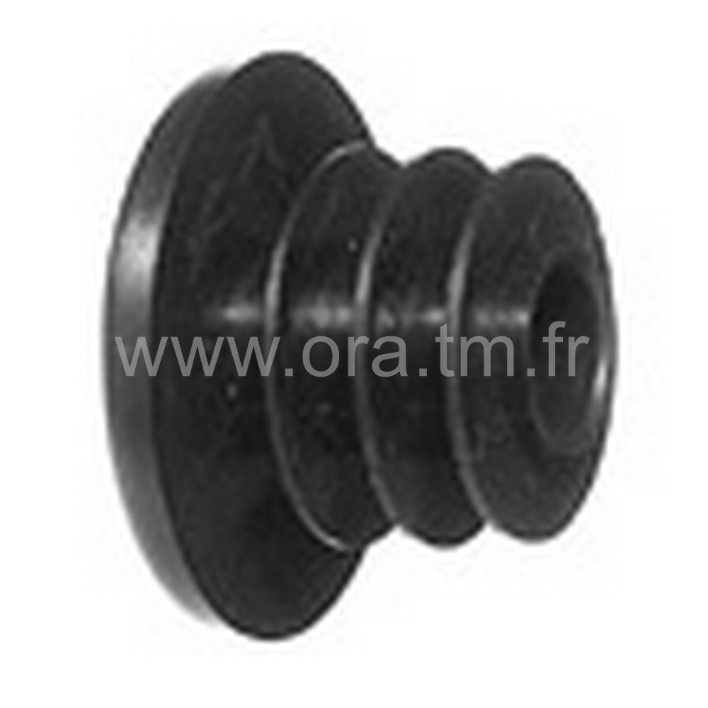 CTDAY - COUVRE TUBE A AILETTES - SECTION CYLINDRIQUE