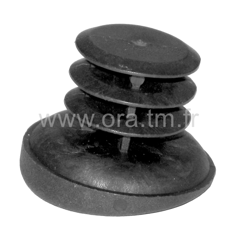 EDYAI - EMBOUT ROND A EMBASE - SECTION CYLINDRIQUE