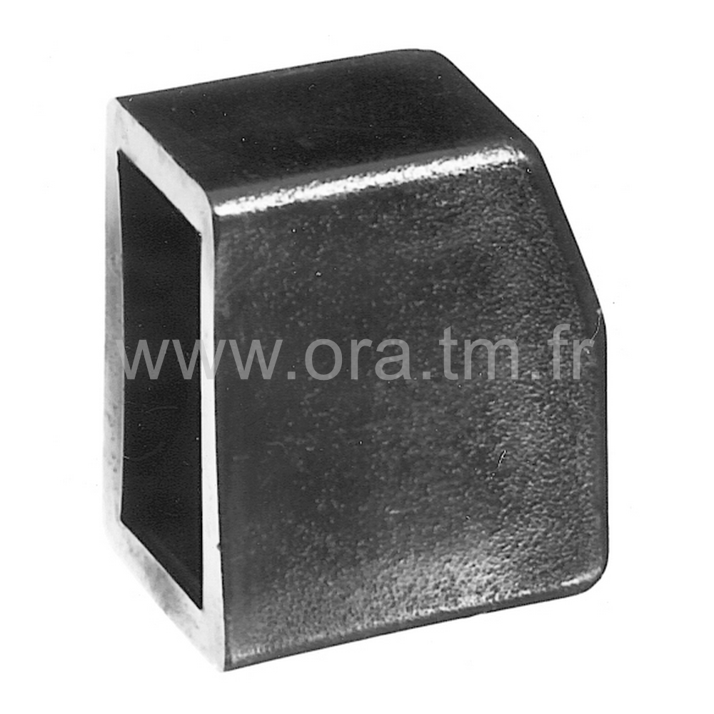 EERH - EMBOUT ENVELOPPANT - SECTION RECTANGULAIRE