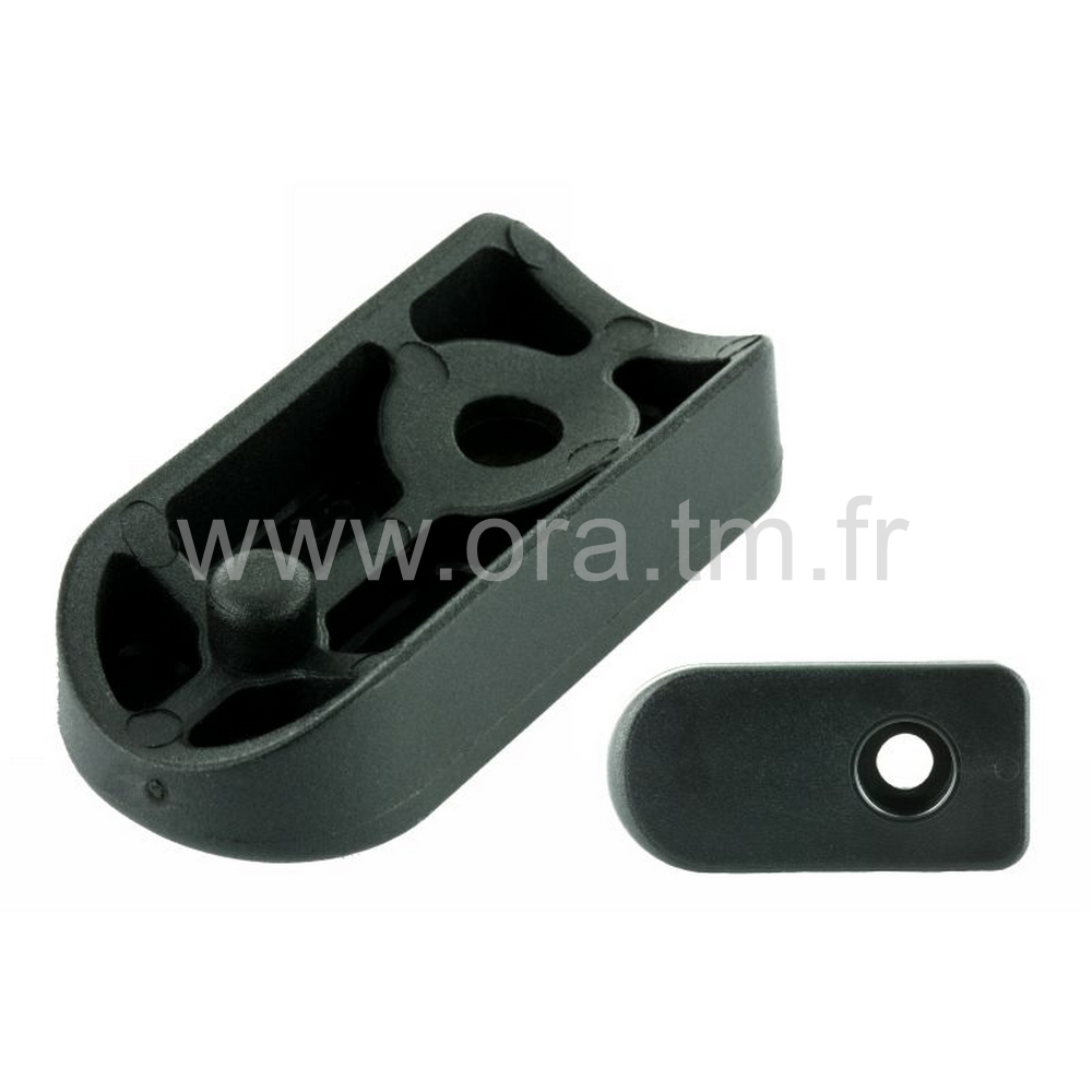 ESBX - EMBOUT TRAINEAU - SECTION CYLINDRIQUE