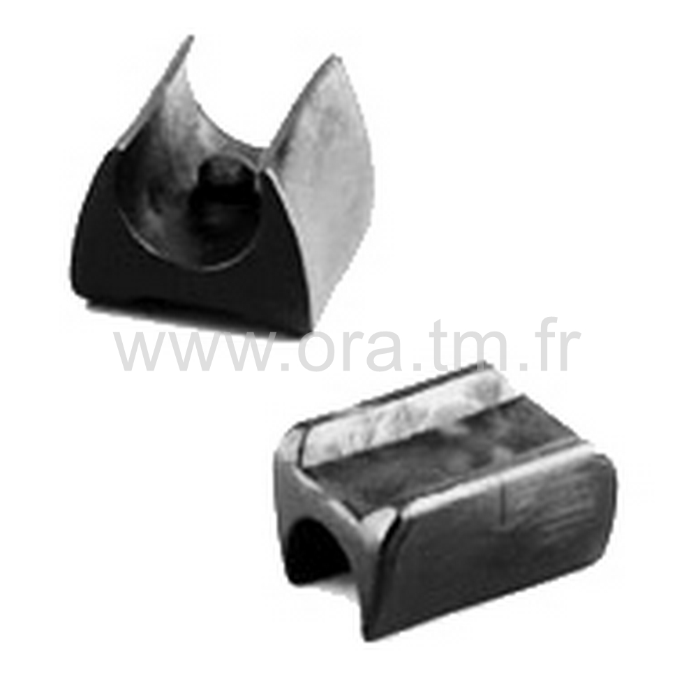 ESKU - EMBOUT TRAINEAU A PINCER - SECTION CYLINDRIQUE