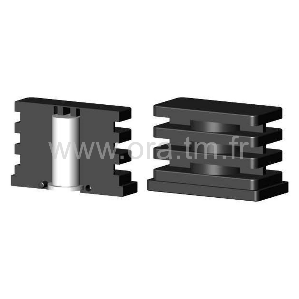 IDR - INSERTION PORTE ROULETTE - SECTION RECTANGULAIRE