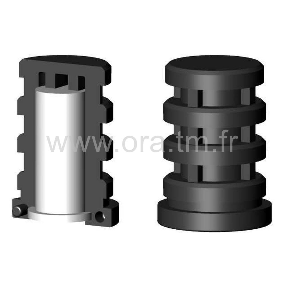 IDY - INSERTION PORTE ROULETTE - SECTION CYLINDRIQUE