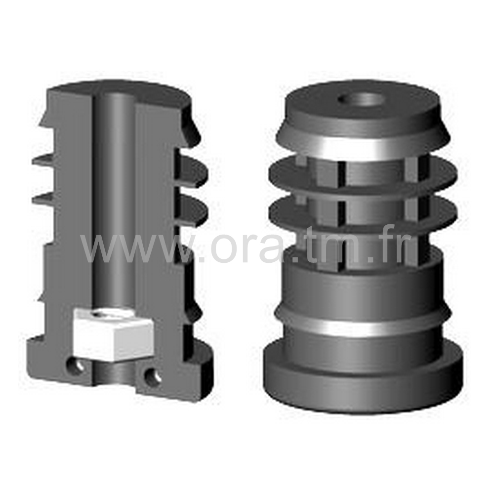 IOYE - INSERTION FILETEE - SECTION CYLINDRIQUE